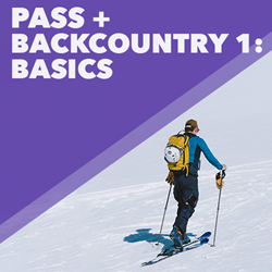 Picture of Pass + Lesson: Backcountry 1