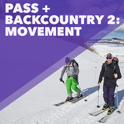 Picture of Pass + Lesson: Backcountry 2