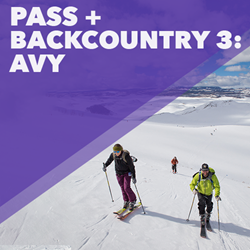 Picture of Pass + Lesson: Backcountry 3