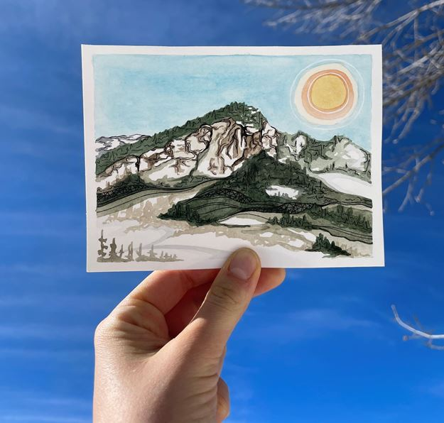 Picture of Bear Mountain Postcard