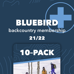 Picture of 10 Pack with Bluebird+ Membership