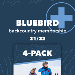 Picture of 4 Pack with Bluebird+ Membership